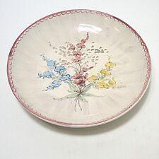 Ulmer Keramik Wandteller Sammelteller Floral