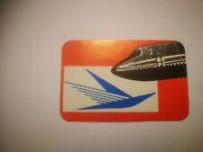 small retro sticker AIRPLANE LOGO AIRLINE FLIGHT AIR LINE PLANE   autocollant R9