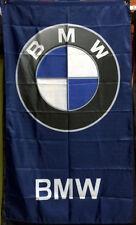 BMW LOGO BADGE SYMBOL FLAG BANNER 3 X 5 VERTICAL m3 m5 330 z4 z8 z3 racing