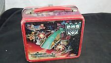 Metroplex Trypticon Aladdin Metal Lunch Box w Thermos 1986 G1 Transformers