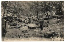 CPA 78 - VAUX DE CERNAY (Yvelines) - 32. Dans les Cascades - V. V. (animée)