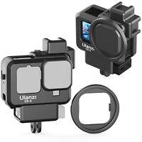 G9-4 Protective Case Vlogging Frame Cage Back Door For Gopro Hero 8 Sport Camera