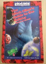 HITCH HIKER'S GUIDE TO GALAXY DOUGLAS ADAMS 4 CASSETTE FULL CAST Audio Book