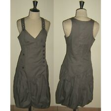 004431aa957b0 Robe Mi-Longue 1060 Clothes en 38 Grise Stylé Neuve !