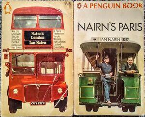 Nairn's Paris, Nairn's London by Ian Nairn