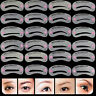24pcs/set Charm Eyebrow Shaping Stencil Grooming Shaper Template Makeup Tool Kit