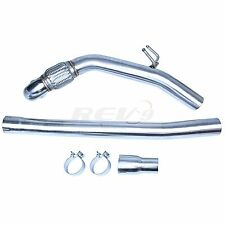 "REV9 15-17 AUDI A3 / S3 / TT / VW GOLF 3"" STAINLESS STEEL TURBO DOWNPIPE 2.0T"