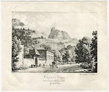 Antique Master Print-GRENOBLE-VOREPPE-STAGECOACH-Bourgeois du Castelet-1819