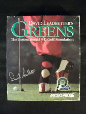 David Leadbetter's Greens (MS-DOS/PC, Instruction Guide, 1992) 3D Golf Simulator