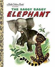 The Saggy Baggy Elephant (Little Golden Book)-ExLibrary