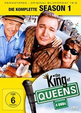 DVD THE KING OF QUEENS - Season 1 (4 DVDs) KULT # Kevin James, Leah Remini ++NEU