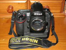 Nikon D D3 Body only 12.1MP Digital SLR Camera - Boxed. Low shutter count.