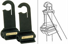BRAND NEW SEAT BELT ADJUSTERS CLIPS BELT LOCKING STOPS (KLUNK KLIP)