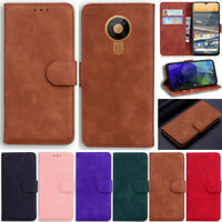 Retro Matte Wallet Leather Flip Cover Case For Nokia 5.3 6.2 7.2 1.3 4.2 3.2 2.2