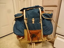 VINTAGE MADE IN WEST GERMANY PERLON SACK BACKPACK EIGER GOOD CONDITION