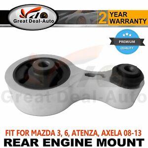 Fits MAZDA 6 WAGON GH 2008-2013 Rear Engine Mount Auto Manual