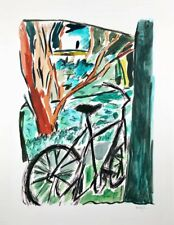 Bob Dylan, Bicycle, Ltd. Ed. giclee, hand signed and numbered