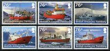 More details for british antarctic ter bat rss ships stamps 2017 mnh shackleton boats 6v set