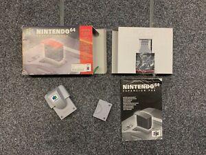 N64 nintendo Expansion Pak, Jumper Pak, Rumble Pak