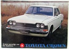 1968 Toyota Crown New Prestige Car for America Sales Brochure