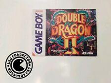 Double Dragon II - gameboy - nintendo - notice
