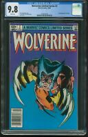 WOLVERINE 2 LIMITED SERIES NEWSSTAND OCT 1982 CGC-GRADED 9.8 NM/MINT ITEM: G-228