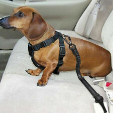 Dog Pet Cat Car Strong Restrain Seat Belt Safety Harness And Lead Restrainer