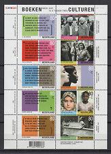 Pays-Bas Nederland 2001 une feuille 10 timbres neufs entre deux cultures T785