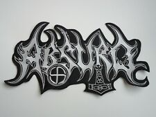 ABSURD BLACK METAL EMBROIDERED BACK PATCH