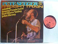 LP, Pete Seeger, Freight Train, Neuzustand, Mint