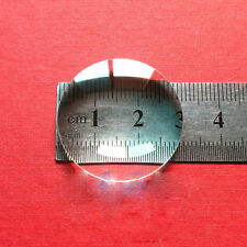 30mm Optical Focal Length 50mm  Double Convex Magnifying Glass Condenser Lens
