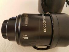 Minolta Maximum AF Reflex 500mm f/8 Mirror Lens Sony Alpha Minolta Maxxum
