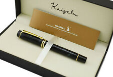 Kaigelu 316 Fountain Pen , Gray Marble Celluloid Signature Gift Pen with Box