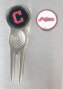 Major League Baseball MLB Golf Divot Repair Tool Ballmark Silver Bronze PICK