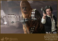 Hot Toys Star Wars HAN SOLO CHEWBACCA Set MMS 263  MINT NEVER DISPLAYED ANH