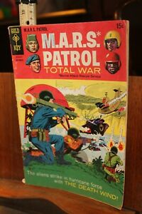 1968 Gold Key MARS M.A.R.S. Patrol Total War  No. 7 ROUGH