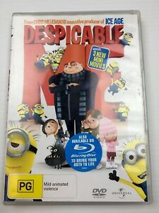 Despicable Me Dvd, Kids Children's Family Comedy Cartoon Minions R4 PAL Tracking