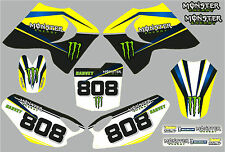 Husky Boy later model Monster graphic/decal kit PERSONALISED FREE UK SHIPPING