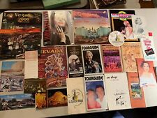 Lot of Vintage Las Vegas publications, paper, flyers, calendars, postcards, etc