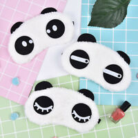 1Pc Cute Panda Sleeping Face Eye Mask Blindfold Ombra Viaggi Sleep Cover Ligh PQ