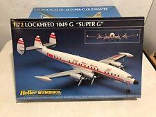 "Heller Humbrol 1:72 Lockheed 1049 G. ""Super G"" TWA variant of the Constellation"