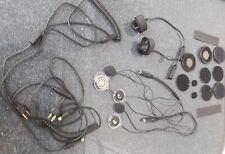 Alan Albrecht Casco Moto Microfono/Hörerkombination, Helmset con Außenmikro
