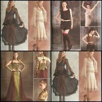 Simplicity Sewing Pattern Steampunk Reni Goth Costume New Spring 2017 You Pick