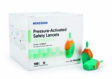 MCK16212400 - Mckesson Brand Lancet McKesson Pressure Activated Safety Needle...