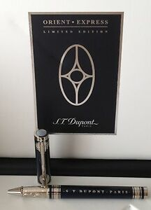 S.T. Dupont 2013 Limited Edition Orient Express Rollerball, 142029, New In Box