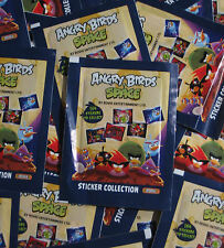 Angry Birds Space 100 pochettes - 500 stickers-TOP RAR