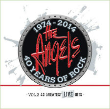 THE ANGELS Vol. 2 Greatest Live Hits 40 Years Of Rock 1974-2014 3CD BRAND NEW