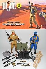 """G I JOE LAST MAN STANDING AT HEAVY WEAPONS 2012 CONVENTION SET 12"""" JOECON NEW"""