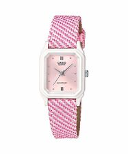 Casio Women's Analog Display Pink Dial Resin Watch Lq142lb-4a2