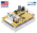 350W DC 5-36V BLDC Three-Phase Brushless Hall Motor Driver Controller Sensor